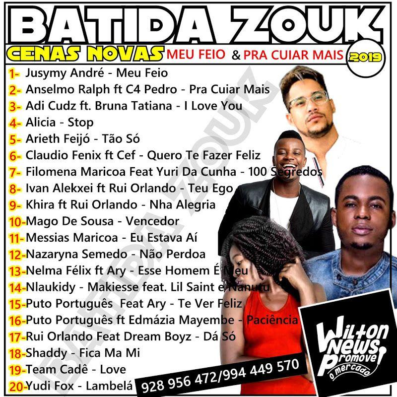 Clica Na Foto Para Baixar 20 Zouk 2019 Zouk Baixar Musicas