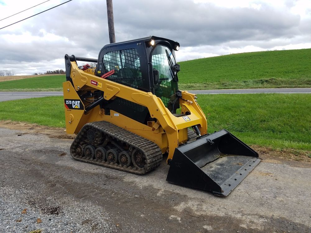 2014 Caterpillar 257D Compact Tracked Skid Steer Loader