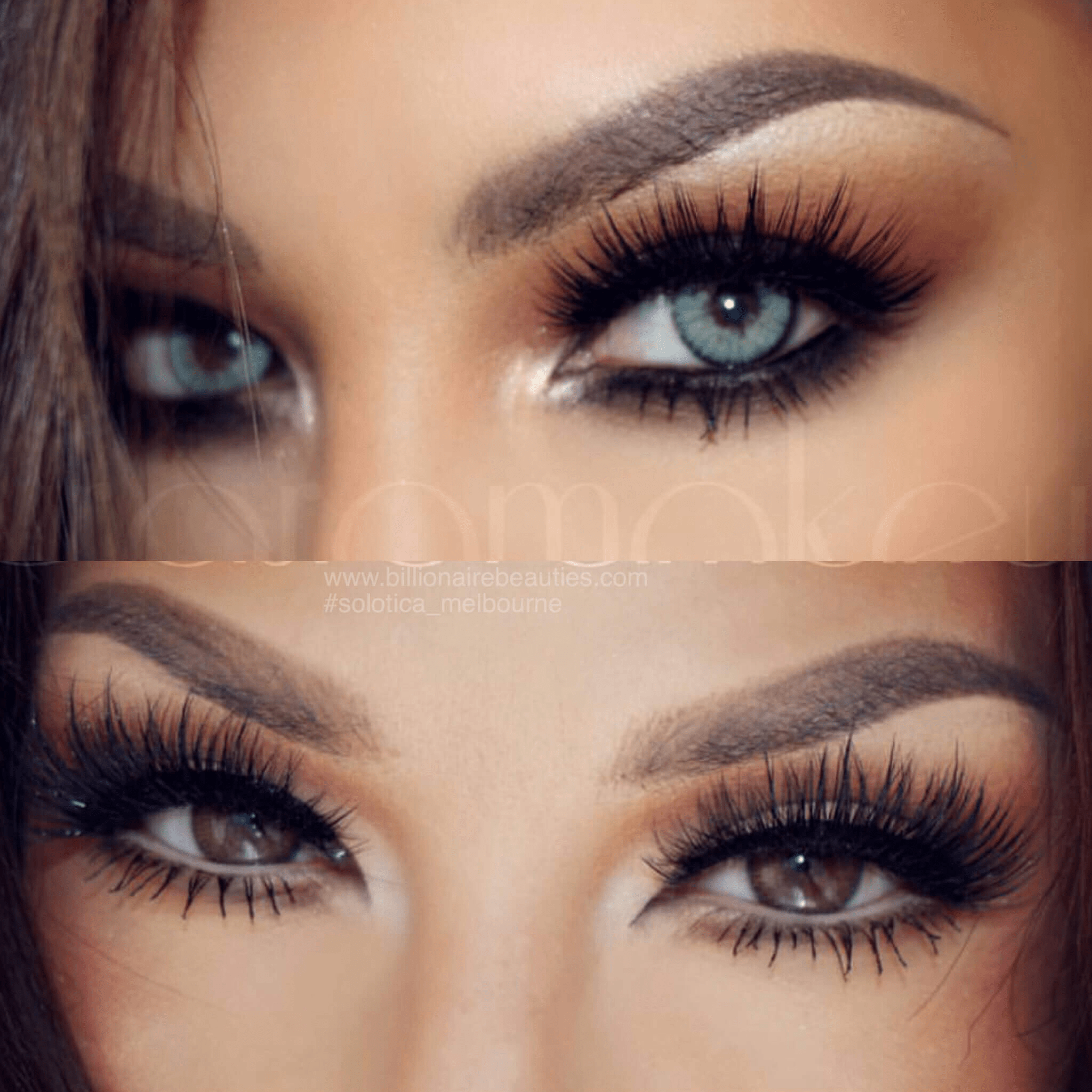 Stunning Auroramakeup Before And After Using Solotica Natural Quartzo Contact Lens Solotica M Colored Contacts Contact Lenses For Brown Eyes Eye Lens Colour