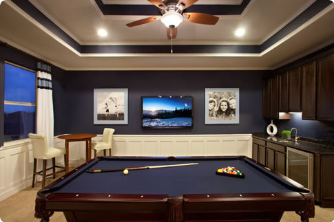 My ideal basement pool table and bar dreaming - My perfect pool ...