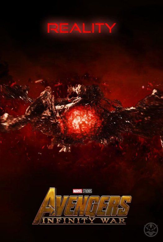 Image result for reality infinity stone poster