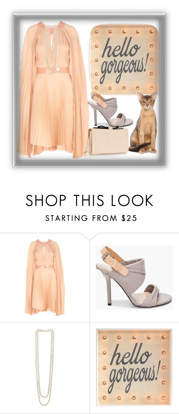 """""""Hello Gorgeous"""" by bren-johnson ❤ liked on Polyvore featuring Richard Nicoll, Diane Von Furstenberg, Kenneth Jay Lane and See by Chloé"""