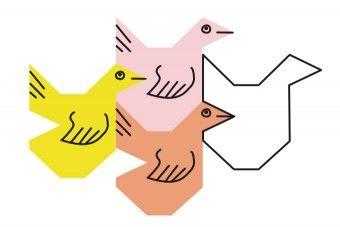 """Mit dem Tierparkett können Kinder """"verrückte Kacheln"""" mit Katzen, Hunden, Eulen, Fischen usw. wie der bekannte Künstler M.C. Escher selbst herstellen und gleichzeitig erste Erfahrungen mit der Geometrie machen."""