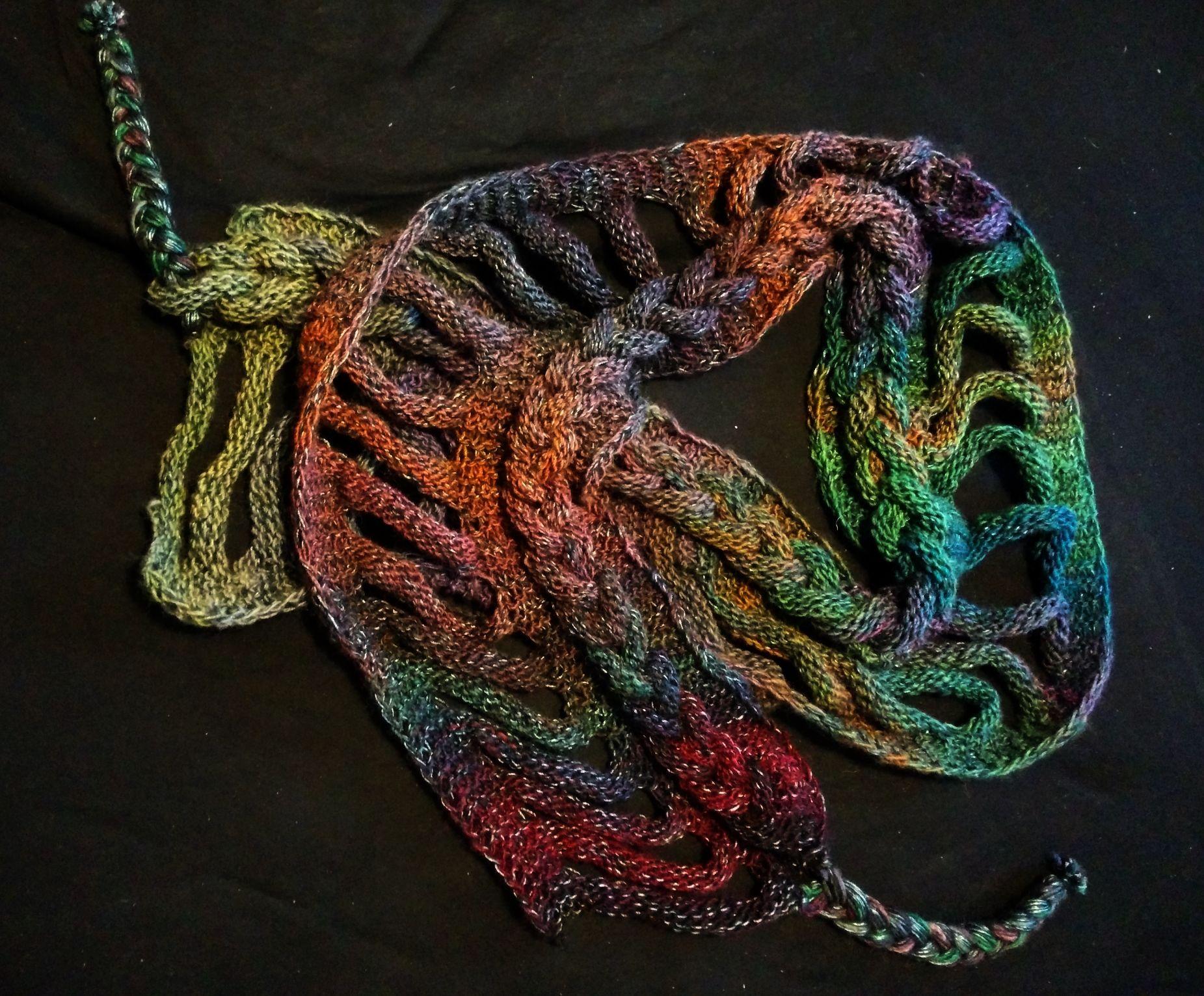 Super Strickanleitung Rapunzelschal... | Viking knits | Rapunzelschal QR46