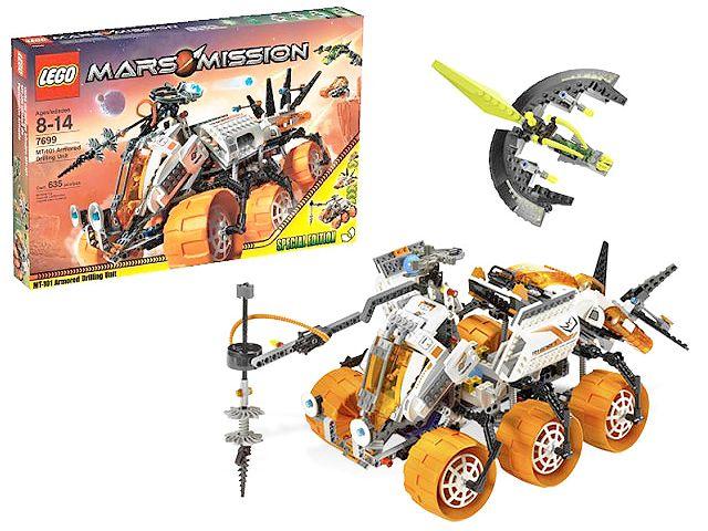 For sale 99 Euro >>Lego 7699 Mars Mission MT101 Armoured Drilling Unit Boorunit 6734190944 - Speelgoedenverzamelshop