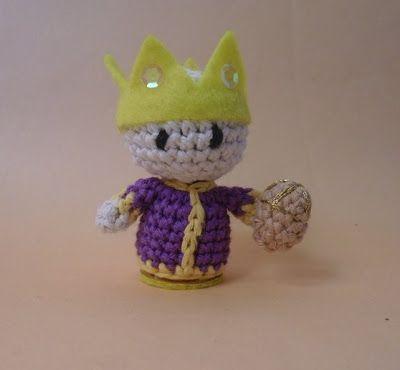 Links to tutorials for birth manger crochet amirugumi for holidays