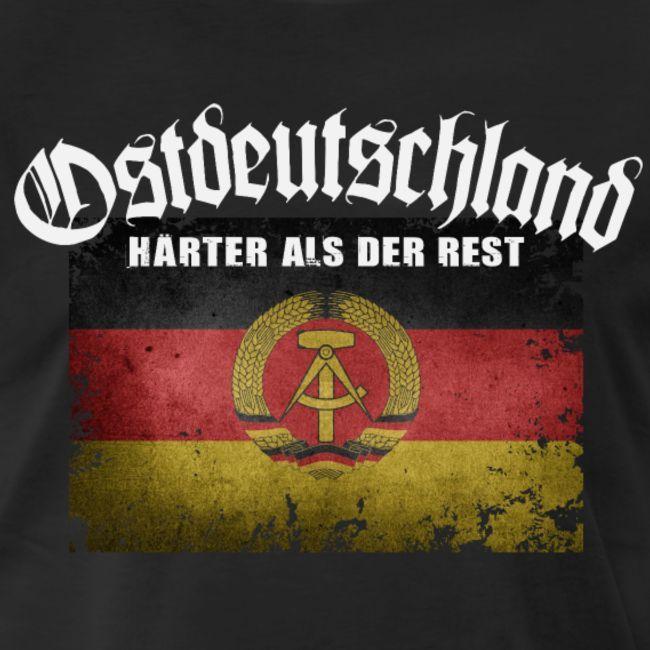 Ostdeutschland Ddr Harter Als Der Rest Ddr T Shirt T Shirts