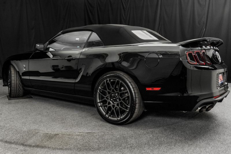 2014 ford mustang shelby convertible black on black - Mustang 2014 Black Wallpaper