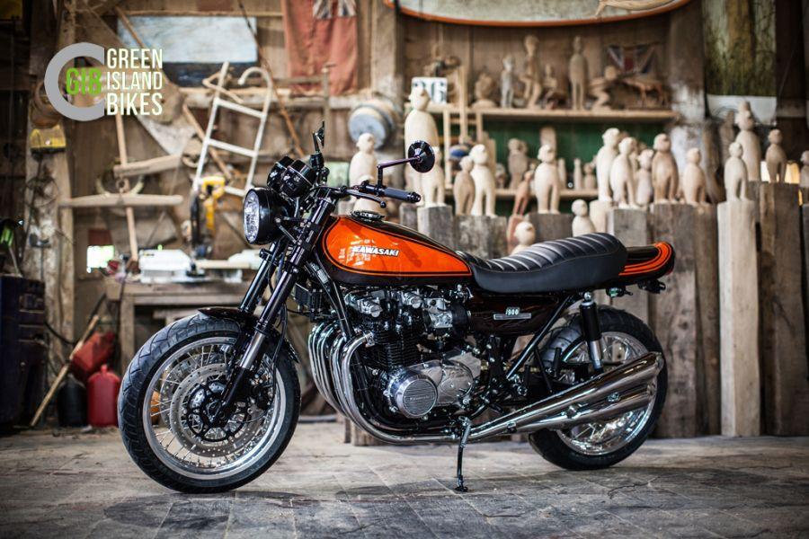 Auf Der Elbinsel Krautsand Entstehen Unsere Exklusiven Kawasaki Z 900 Umbauten Und Weitere Handgefertigte Unikate
