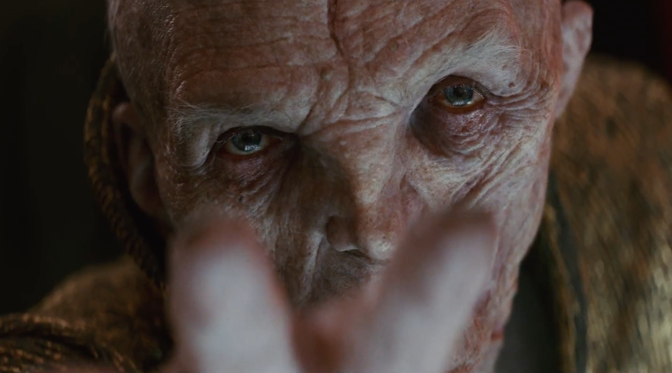 <em>The Last Jedi</em> spoiler talk: Rian Johnson on Supreme Leader Snoke's startling scenes