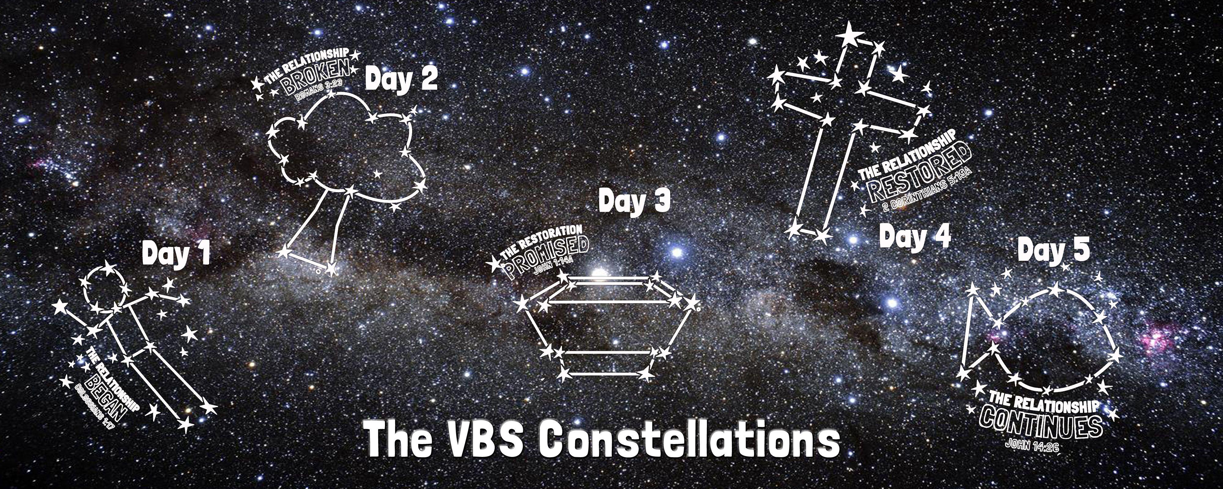 Vbs Constellations Galactic Starveyors Vbs 2017