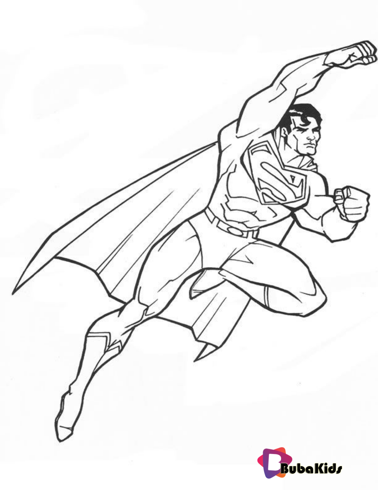 Superman Printable Coloring Book Pages Book Coloring Coloring Sheet Pages Superhero Superma Cartoon Coloring Pages Printable Coloring Book Coloring Books
