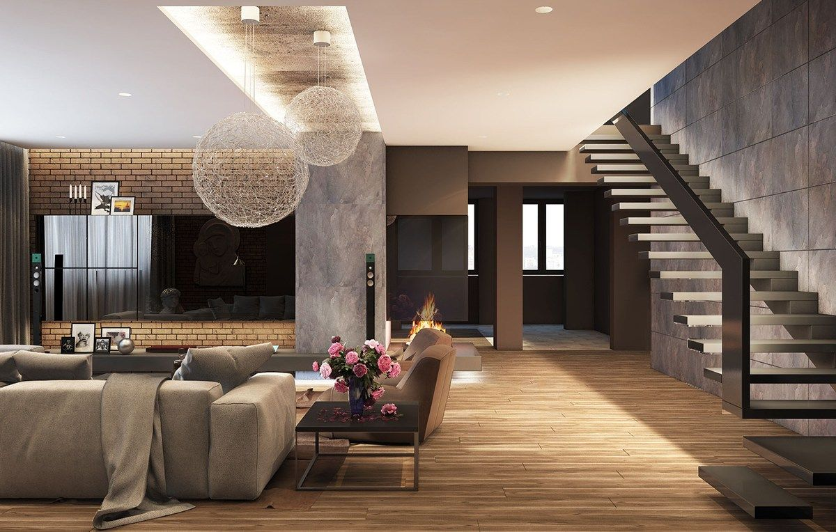 Great 5 Living Rooms With Signature Lighting Styles (Interior Design Ideas)