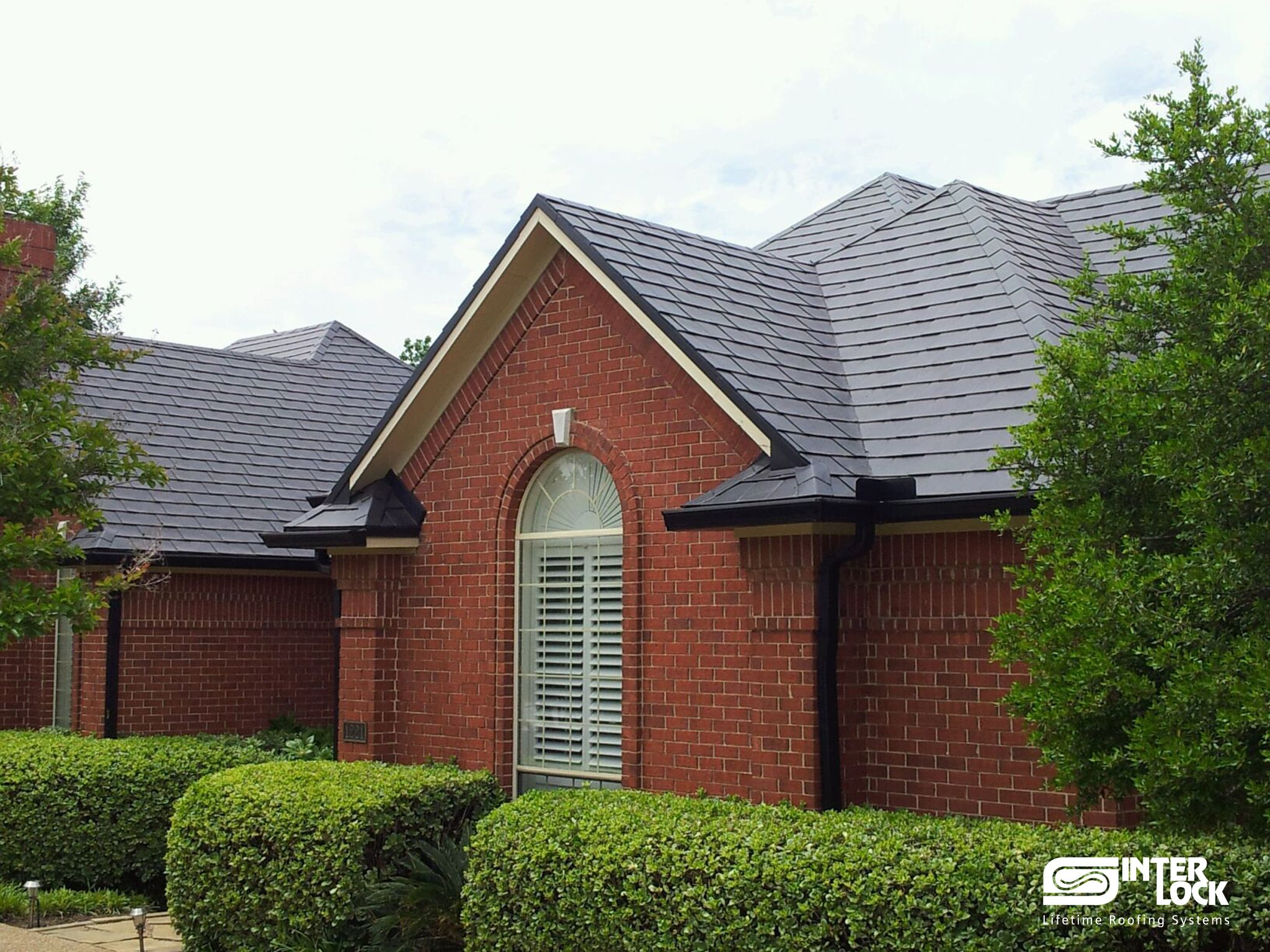 Best Charcoal Grey Interlock® Slate Roof From Dallas Texas Installation By Metal Roofs Of Texas 400 x 300