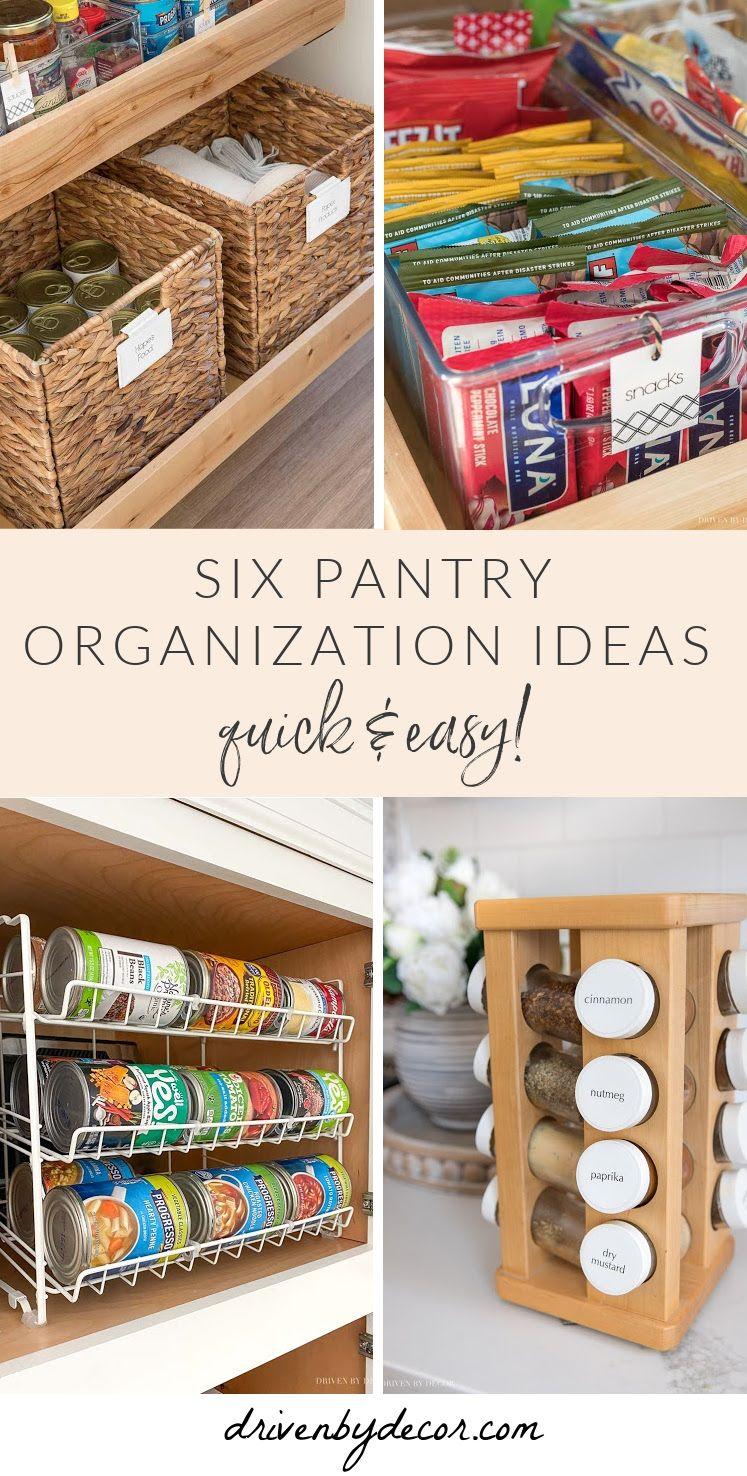 Pantry Organization Ideas My Six Favorites Driven By Decor Driven By Decor Pantry Organization Organization
