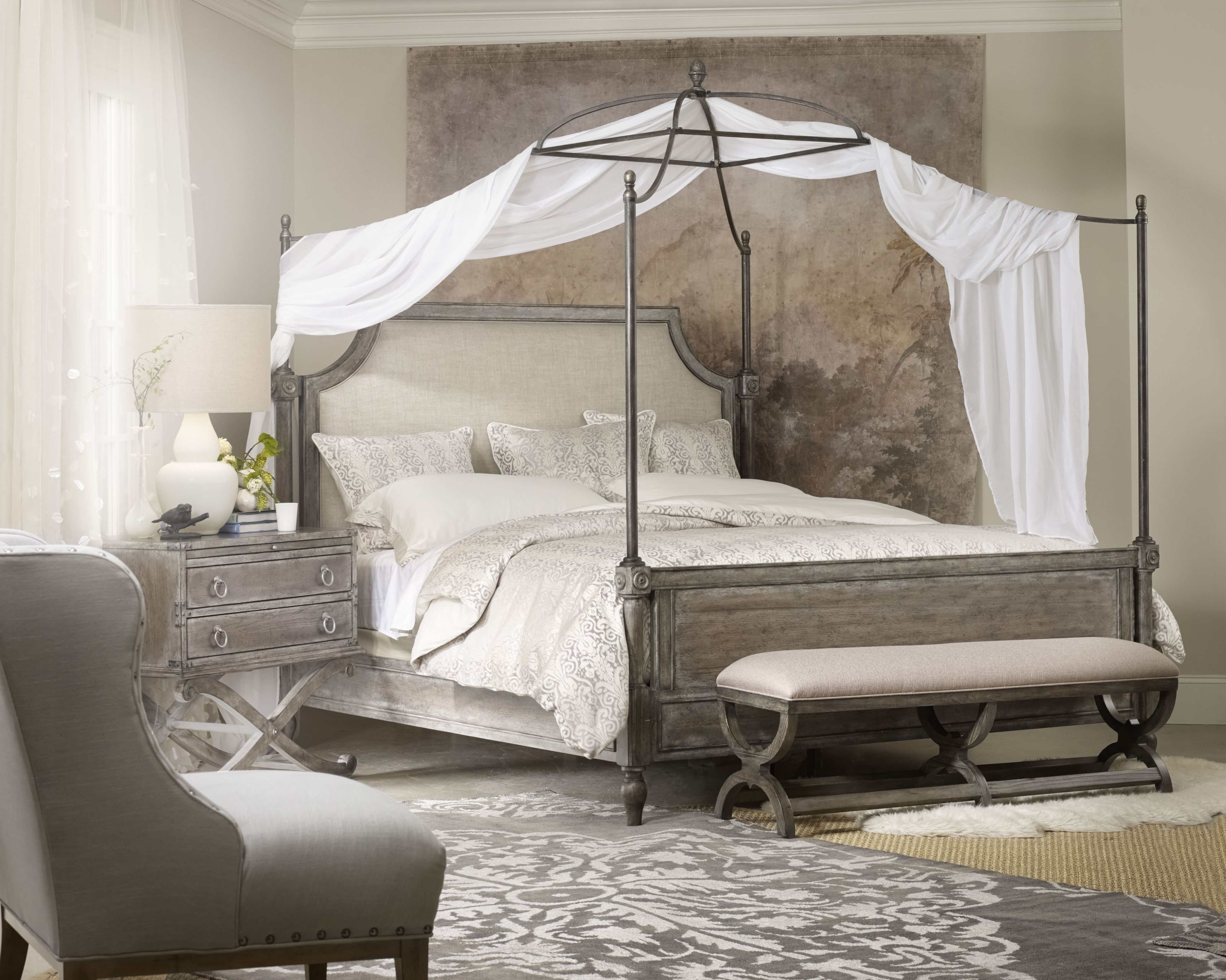 "Vintage Canopy Beds true vintage"" canopy bed from hooker furniture. 