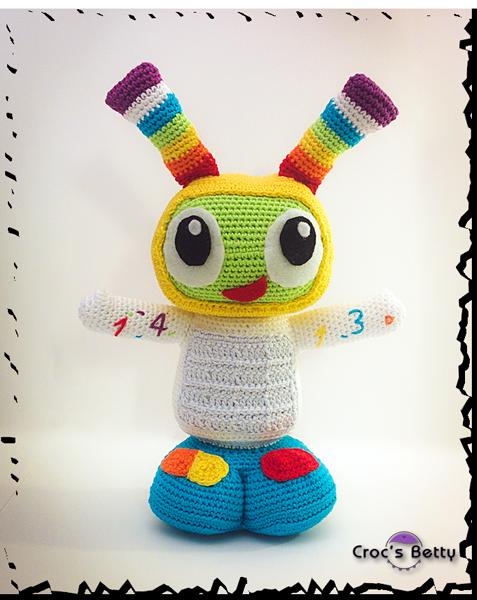 FREE PATTERN Robot Bobe #robot #crochet #pattern #amigurumi #bebo ...