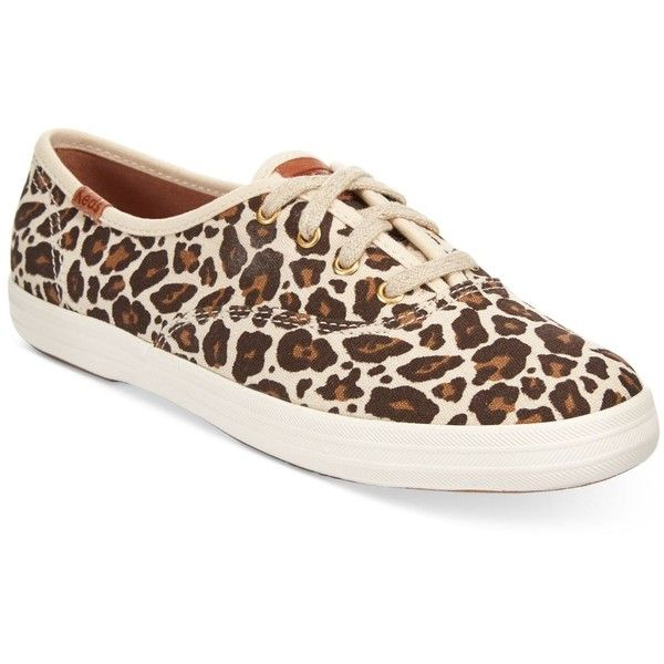 c8c6096c816 Keds Women s Champion Animal Sneakers ( 50) ❤ liked on Polyvore featuring  shoes