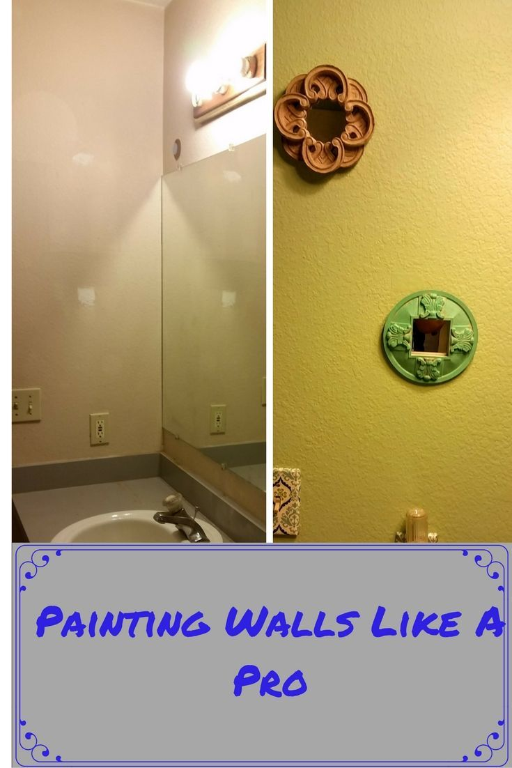 Want to paint wall like a pro? Try this. | Pinterest | Paint walls ...