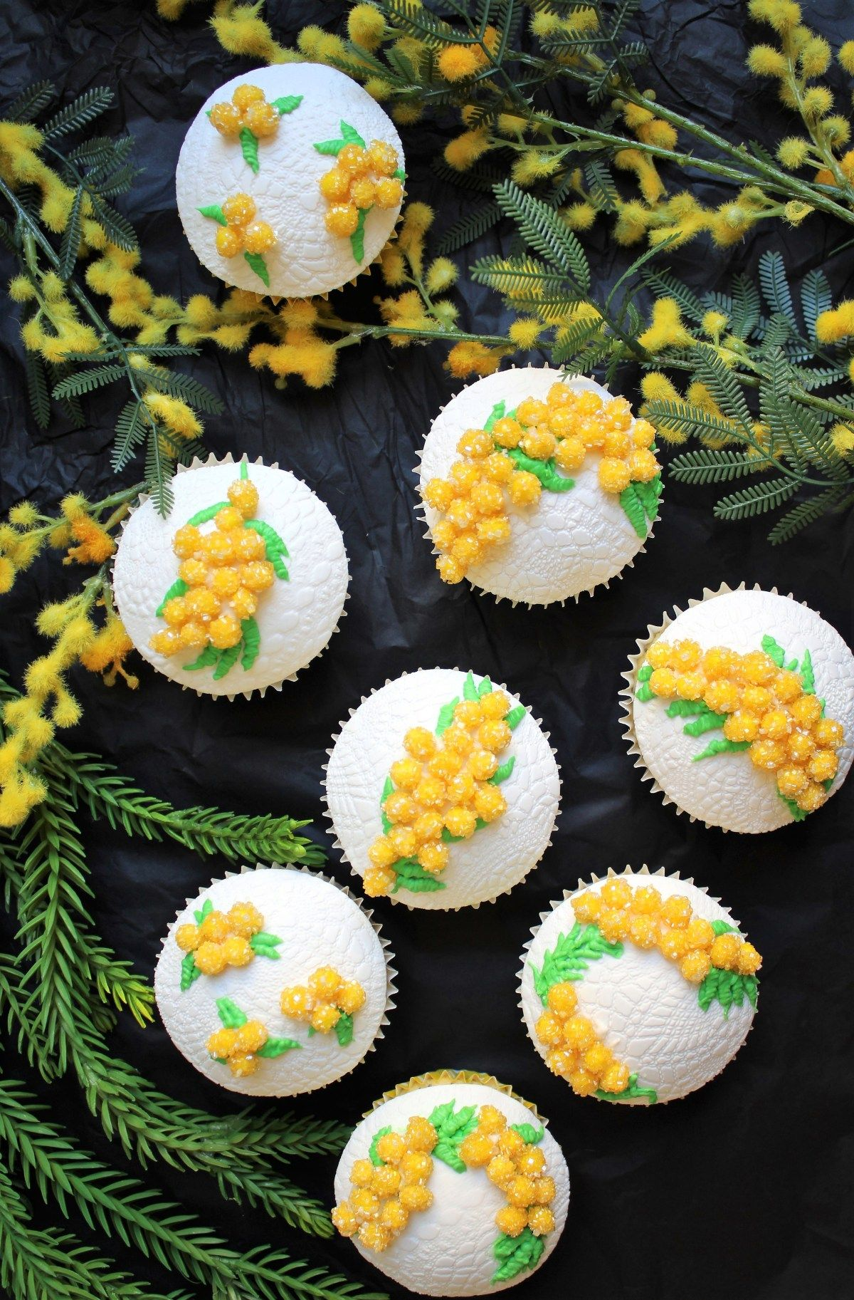 Lemon Poppyseed Cupcakes Lemon