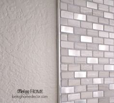 Schluter Strips Tile Google Search Diy Tile Backsplash Diy Tile Metallic Backsplash