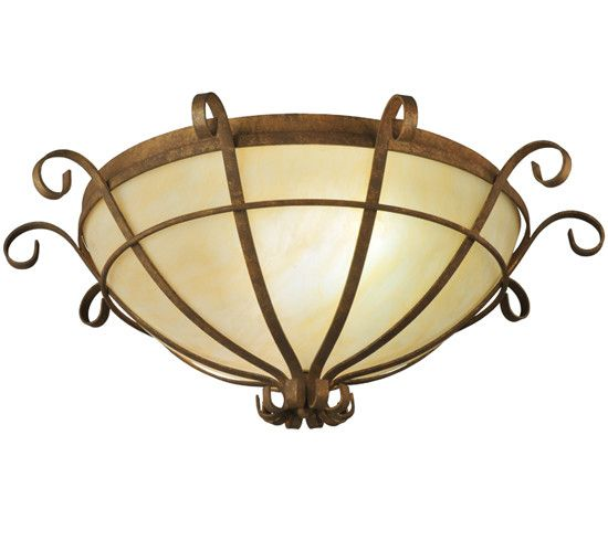 Florentine 2 Light Flush Mount