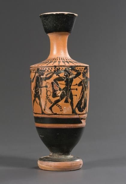 Attic Black Figure Lekythos 5th Century Bc Price