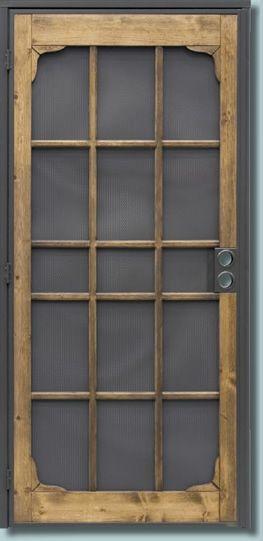 Screen Door By Rainorshinemurrieta Com Steel Security Doors Security Screen Door Screen Door
