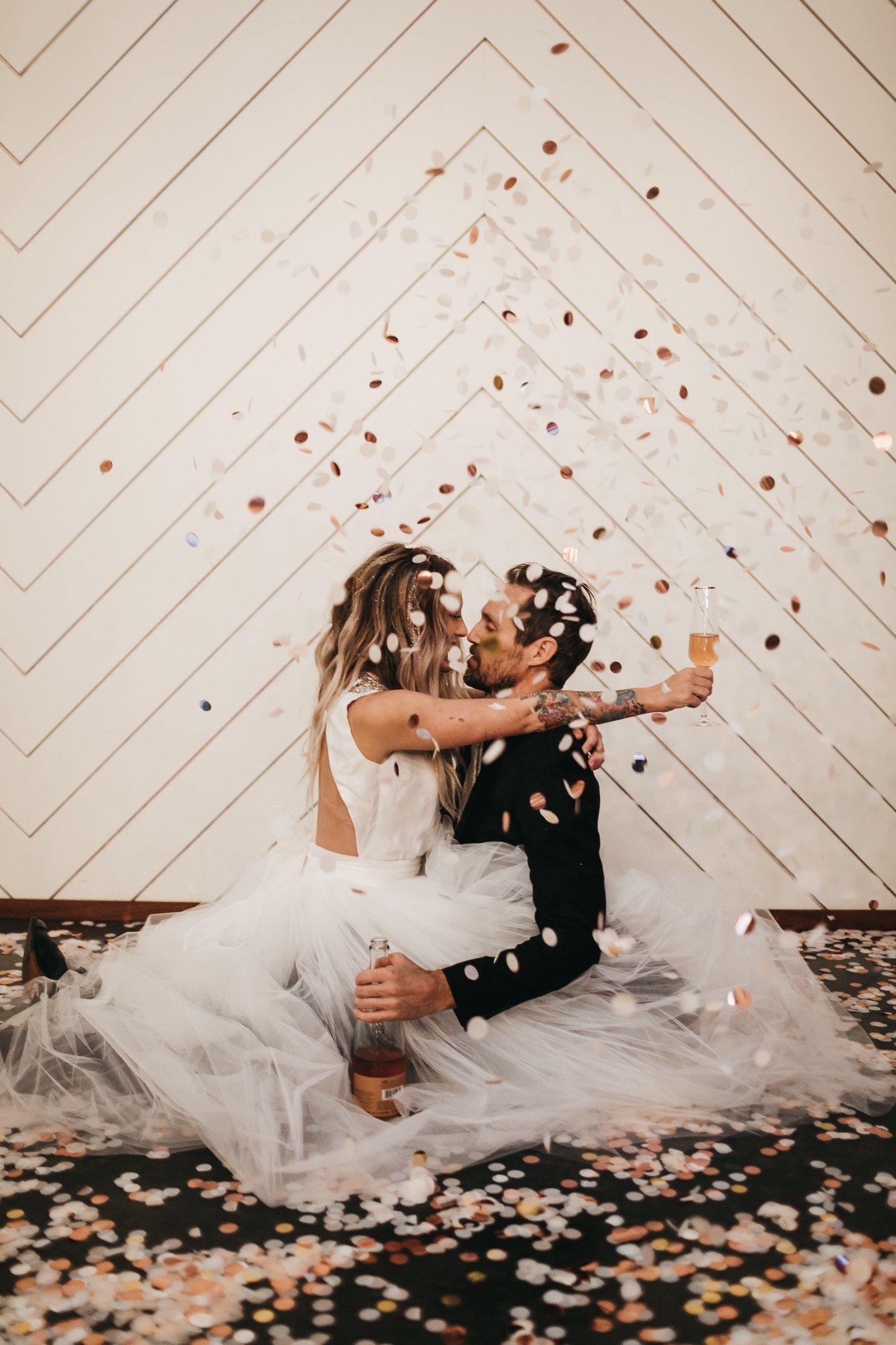 NYE Wedding at Saint Irene's | Tualatin Oregon | Casi Yost - McMinnville Wedding Photographer
