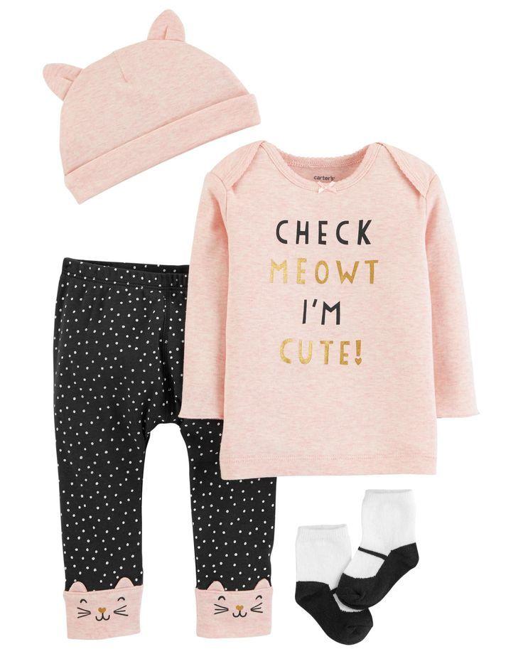 f8813d5c8 4-Piece Babysoft Take-Me-Home Set   Manas meitas Annas drēbes ...