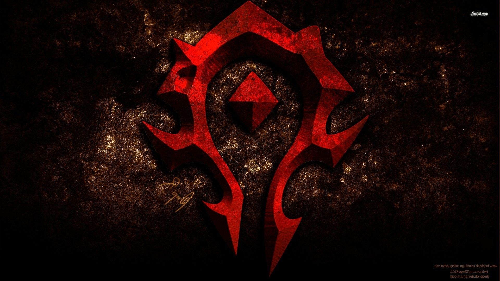 Horde World Of Warcraft Hd Wallpaper Planos De Fundo Fundos