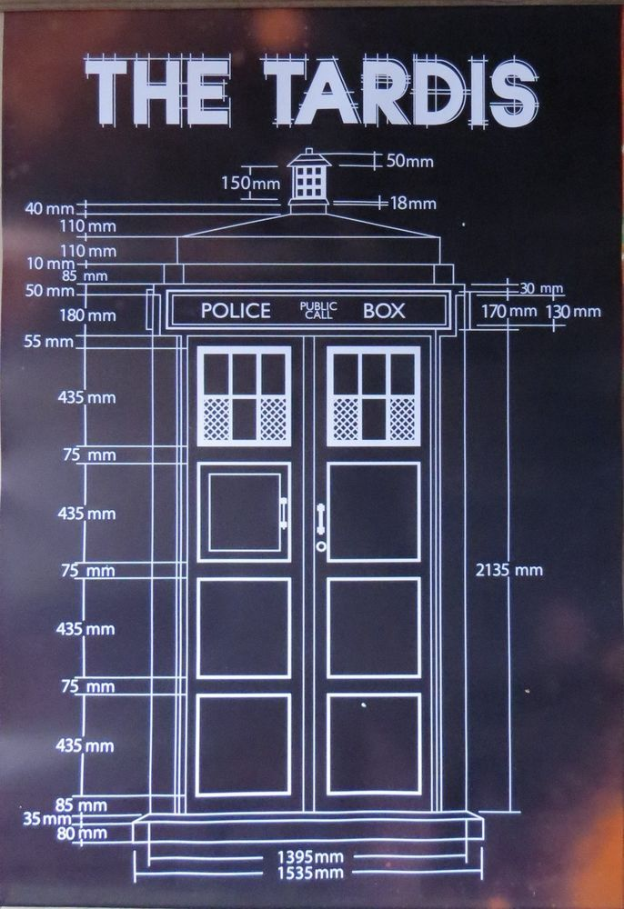 Doctor who tardis blueprint licensed poster 90cm x 60cm brand new doctor who tardis blueprint licensed poster 90cm x 60cm brand new from 858 malvernweather Gallery