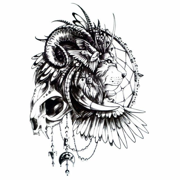 1001 id es en photos de tatouage lion inspirez vous de l 39 art des tatoueurs tattoo. Black Bedroom Furniture Sets. Home Design Ideas