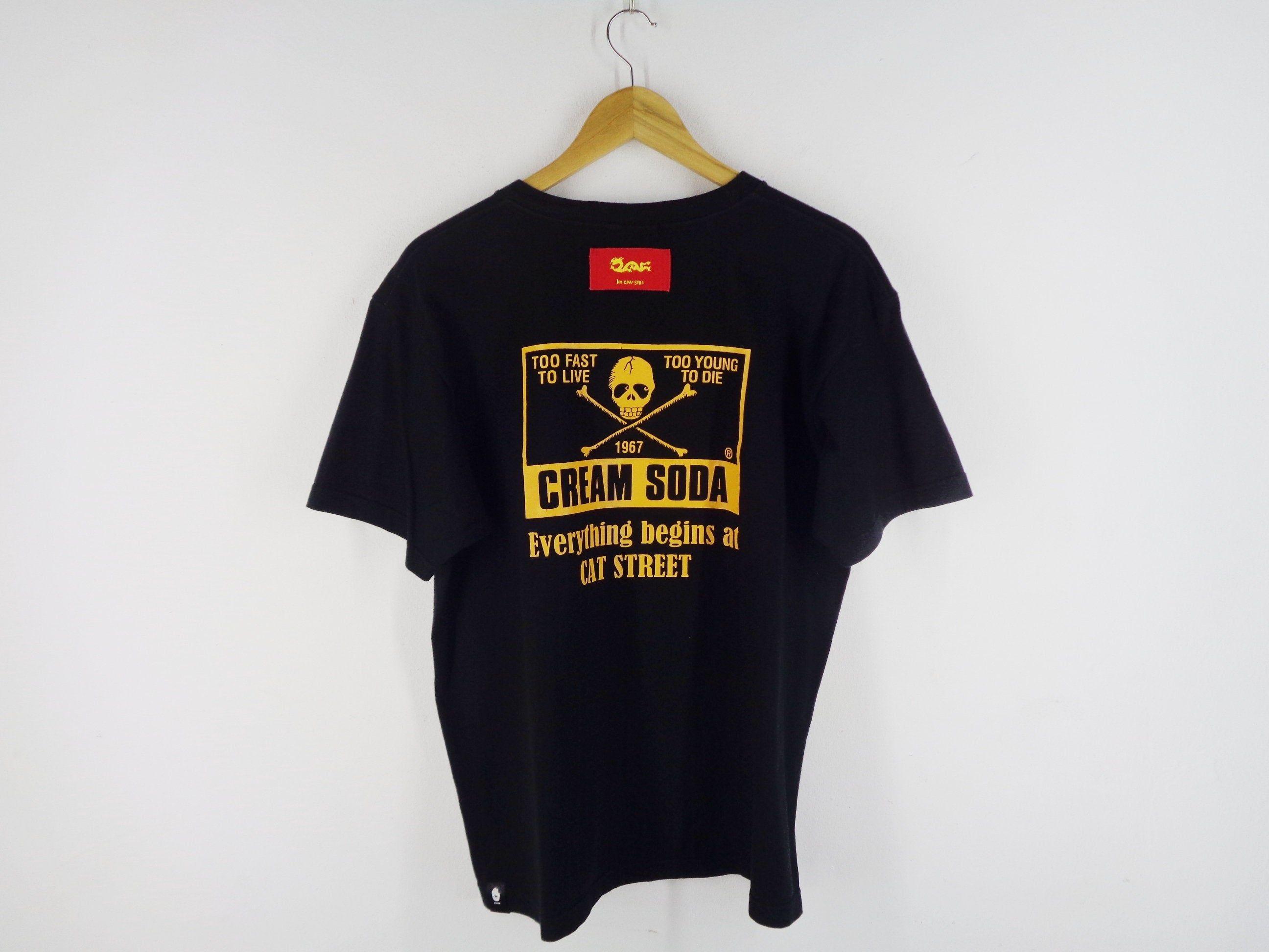 Cream Soda Shirt Cream Soda T Shirt Cream Soda South Side Cat Etsy Shirts Cream Soda T Shirt