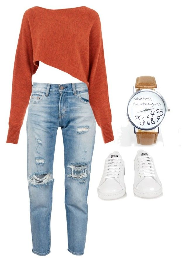 """""""Untitled #517"""" by batgirl-373 ❤ liked on Polyvore featuring Levi's, Crea Concept, adidas, women's clothing, women's fashion, women, female, woman, misses and juniors"""