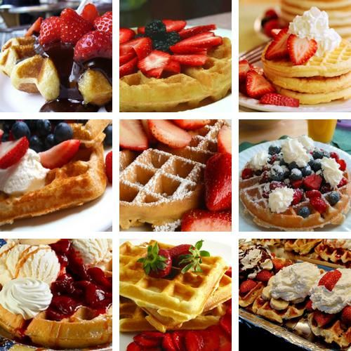waffle heaven <3