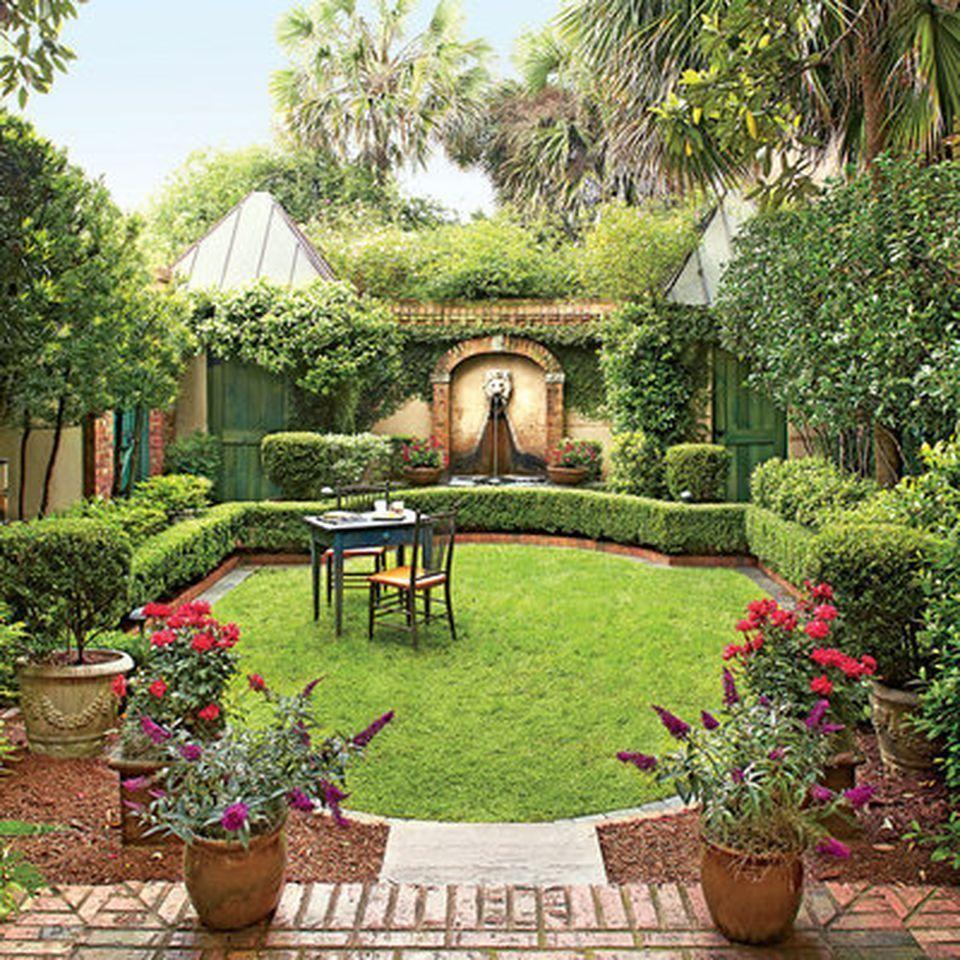 astounding garden seating ideas native design | This is Small courtyard garden with seating area design ...