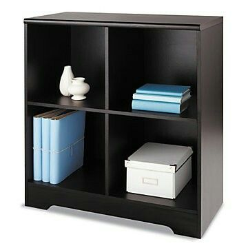 Realspace Magellan 4 Cube Bookcase 33 78 H X 30 18 W X 15 58 D Espresso By Office  Depot