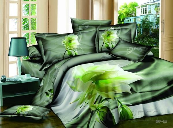 Amazing 4 piece cotton comforter sets with super for Super cheap bedroom sets