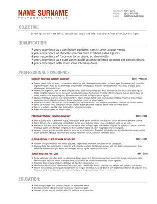 writing a resume australia