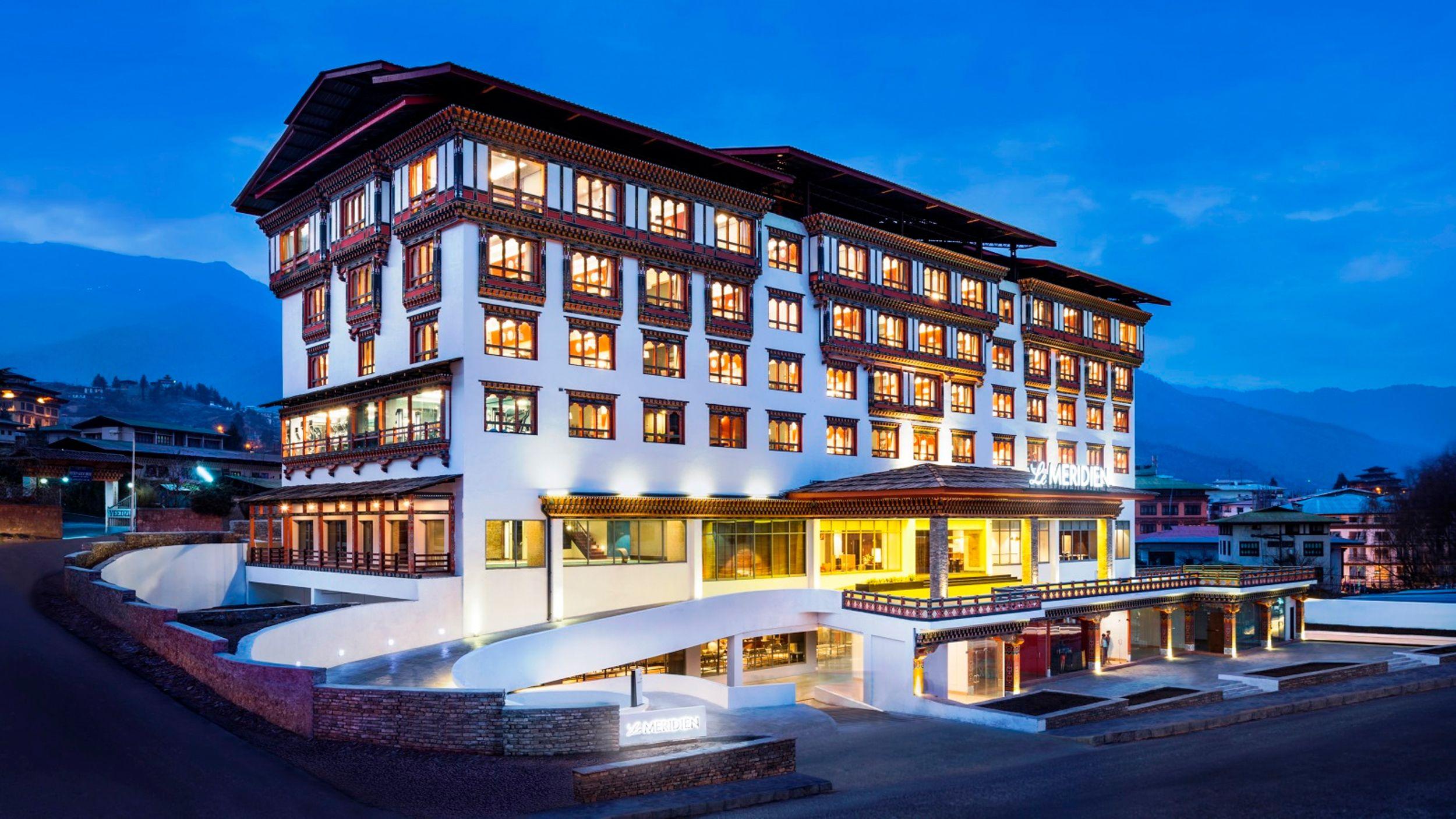 Luxushotels Lemeridienthimphu Bhutan Thimphu Luxusreisen Luxushotel Hotels Villen
