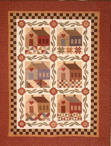 Patchwork Cottage by The Rabbit Factory, via Flickr