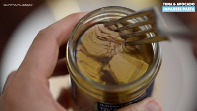 Photo of Tuna & Avocado Japanese Pasta Recipe & Video – Seonkyoung Longest