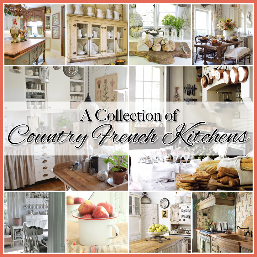 Country French Kitchens A Charming Collection French
