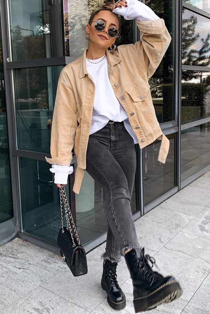 Photo of Jeans With Velvet Jacket