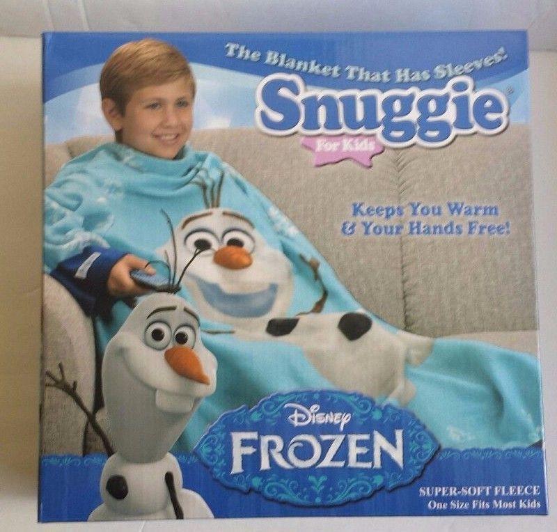 Disney Frozenfleece Blanket Olaf Snuggie Snowman Kids As Seen On Tv