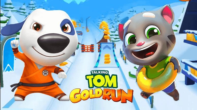 Talking Tom Gold Run MOD APK (Unlimited Money) Fast
