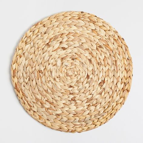 ROUND STRAW PLACEMAT - Placemats - Tableware | Zara Home Spain