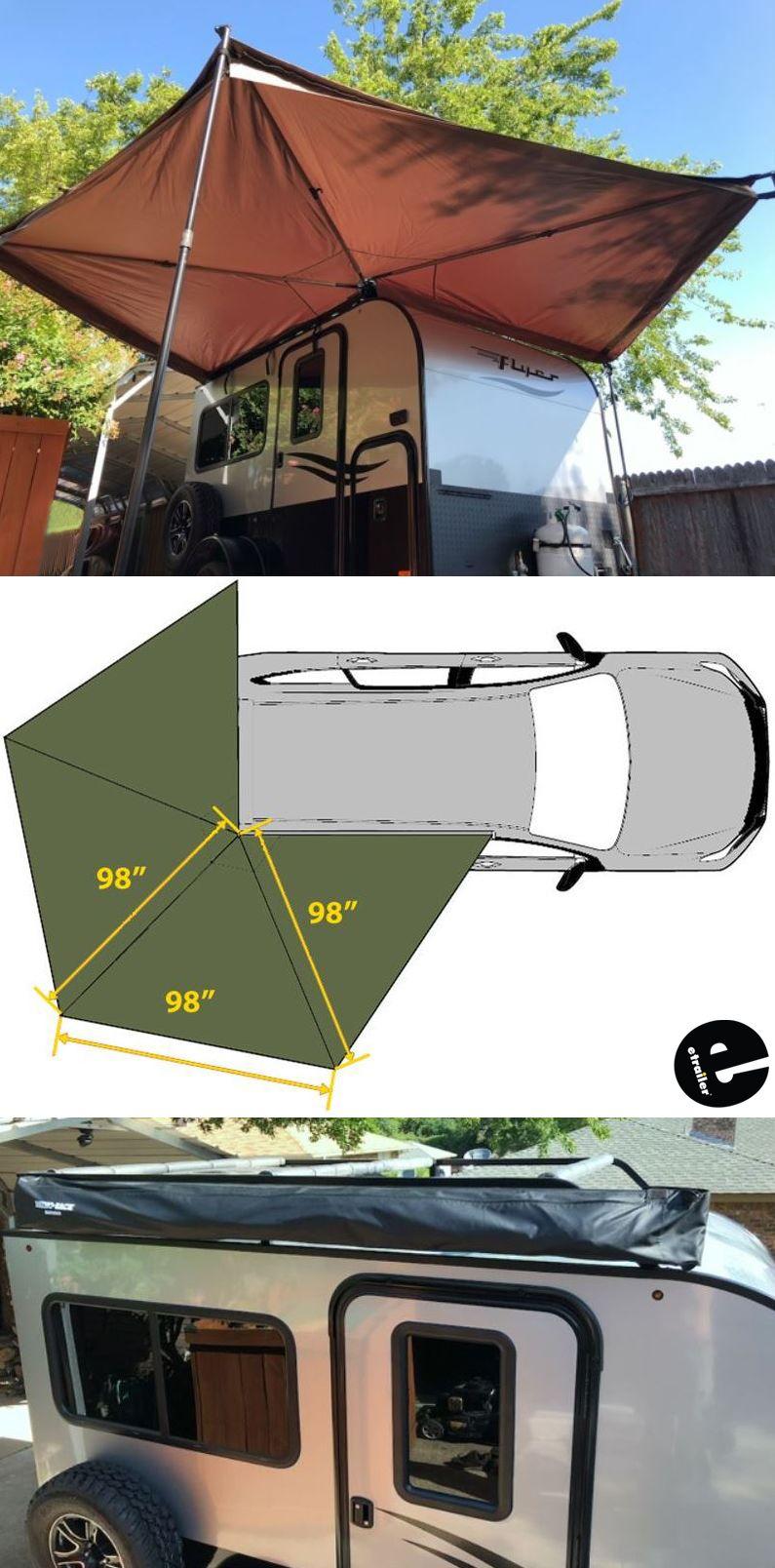 rhino rack batwing awning roof rack