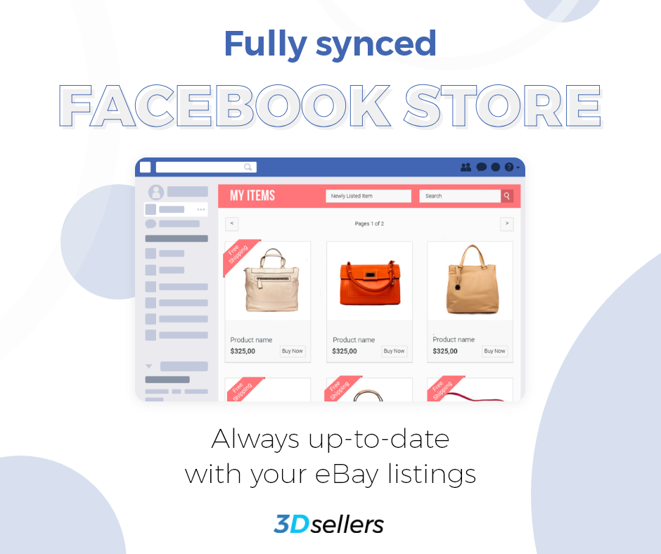 Do you have your eBay listings connected to Facebook